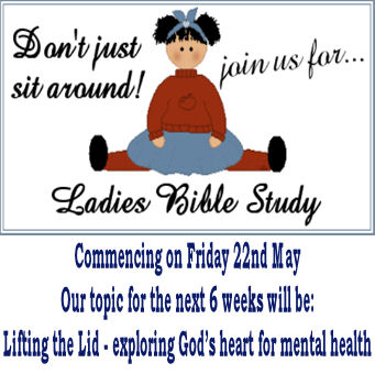 Womens Only Bible Study - Click for Flyer